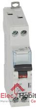 Disjoncteur unipolaire+neutre DNX3 6A Vis/Vis Legrand 406772