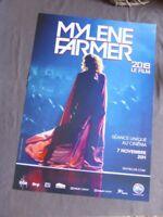 Mylène Farmer Affiche Cinéma Pathé Le Film du Concert 2019