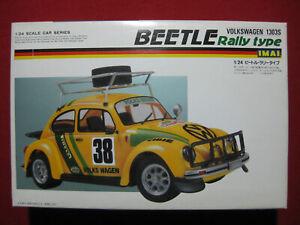 Volkswagen 1303S Beetle Rally Type 1/24 Imai Motorized Model Kit VW Bug Japan