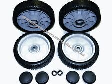"""200mm SET of grey FRONT & REAR DRIVE WHEELS for HONDA 21"""" lawn mowers"""