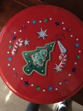 Tin Christmas Round