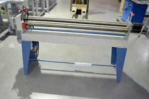 ACL Asymmetrische 3-Walzen Rundbiegemaschine Nutzungslänge 1530mm