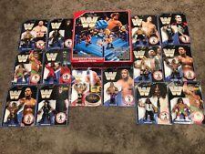 WWE / WWF Retro Set, Ring & Figures Assortment. Mattel Hasbro Style