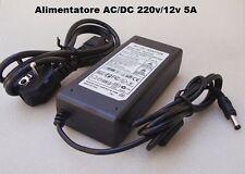 Alimentatore AC/DC 220v/12v 5A IMAX B6 e per tutti i caricabatterie in commercio