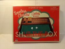 Cardinal 2009 Deluxe Wood Shut The Box Game Of Skill #216 gm967