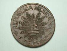Mexico 1915 5 Centavos Chihuahua Revolutionary #30