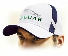 JAGUAR unisex Baseball Cap Hat. 100% cotton. White color. Adjustable size