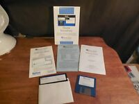 1990 Byte Size HOME INVENTORY IBM BY PUBLISHING INTERNATIONAL W/ BOX & DISKS