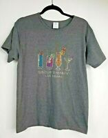 Womens Size M Group Therapy Las Vegas Cocktails Girls Night Out Shirt Rhinestone