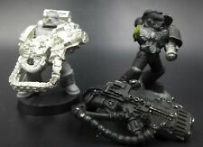 Space Marines Devastators (2) OOP - metal Warhammer 40K HD12