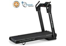 Jk Fitness Tapis Roulant SuperCompact 48 Silver Mp3 USB Ricevitore Cardio