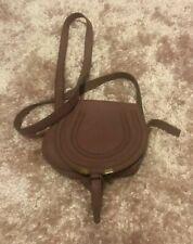 Chloe mini Marcie handbag crossbody lavender leather original authentic