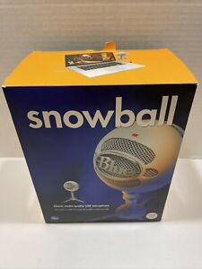Blue Microphones Snowball USB Microphone Textured White