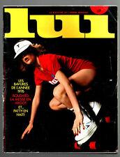 LUI n°156 ¤ 01/1977 ¤ JEAN-PAUL ESCANDE / ALPHONSE BOUDARD