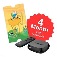 No installation just hook and Start  NOW TV Box +4 Month Kids Entertainment Pass