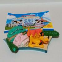 Tokyo Disney Resort Coca Cola ToonTown Pluto Diorama Figure Plush Limited 25th