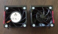 Lot 2 HP 662520-001 Proliant DL380E DL380P Gen8 Hot-Plug CPU Cooling Fan