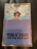 Vintage 1992 Weird Al Yankovic Off The Deep End Cassette Tape