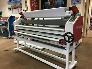 Vanguard Pro 1600 64 inch Hot and cold laminator NEW  £1,995.00 or lease  £15.69