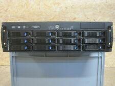 "19"" 3HE chenbro RM31212B|12fach BP| Server Gehäuse | Zippy R3G-6650P 650w redu."