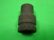 Douille impact 1.3cm embout carré 12mm, chrome vanadium acier, Endura marque