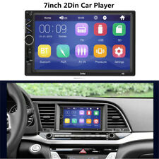 7inch 2 Din Car Stereo Radio FM/MP5 Multimedia Player Bluetooth Touch Screen 60W