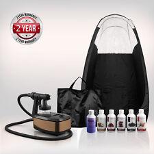 Aura Allure Complete Spray Tanning KIT (Includes Black Tent) + FREE Suntana Tan