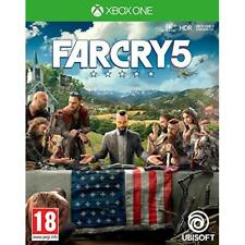 Far Cry 5 Xbox One Authentic Ubisoft 4k Ultra HD