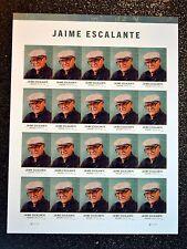 2016USA #5100 Forever - Jaime Escalante  -  Sheet of 20  Mint NH  teacher