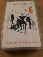 Spandau Ballet : Through The Barricades : Vintage Tape Cassette Album from 1986