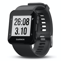Garmin Forerunner 30 Black Running Watch Wrist-Based Heart Rate 010-01930-00