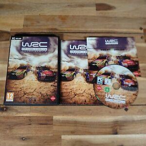 WRC FIA World Rally Championship PC (2010) Windows XP Complete With Manual Rare
