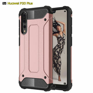 Shockproof Hybrid Rubber PC Armor Hard Case Cover for Huawei P40 Pro/ Lite Shell