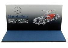 Diorama présentoir Mercedes-Benz Museum/Showroom - 1/43ème - #43-2-C-C-016