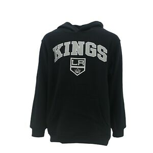 Los Angeles Kings Official NHL Apparel Kids Youth Size Hooded Sweatshirt New
