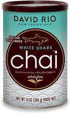 David Rio White Shark Chai 398g in der Dose Weißer Tee und Grüntee