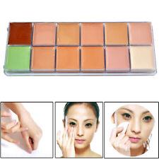 Face à Correcteur Crème Camouflage 12 Color Care Facial Palettes de maquillage