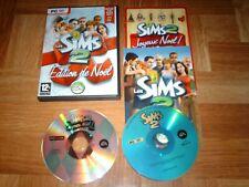 LES SIMS 2...édition de Noël...jeu complet...sur PC