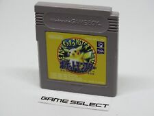 POKéMON VERSIONE GIALLA POCKET MONSTER YELLOW NINTENDO GAME BOY JP JAP ORIGINALE