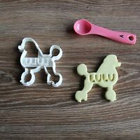 Poodle Custom Cookie Cutter Treat Personalized Pet Name