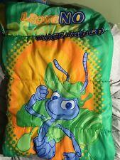 A Bug's Life Sleeping Bag Disney Pixar Flick Green