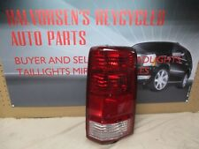 DODGE NITRO RH TAIL LIGHT 07 08 09 10 2007 2008 2009 2010