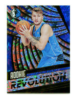 LUKA DONCIC 2018-19 Panini Rookie Revolution Impact Holo Card #1 RC SP Mavericks