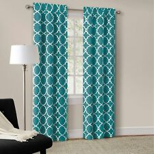 Mainstays 63 Inch Teal Calix Panel Pair