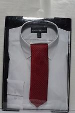 Beverly Hills Polo Club White Shirt Size Large 16-16 1/2 Neck 34/35 Sleeve & Tie