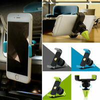 UNIVERSAL 360° ROTATING CAR MOBILE PHONE HOLDER AIR VENT MOUNT CRADLE SUPPORT