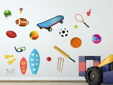 Sports Wall Stickers / Decors, Removable Fabric Stickers