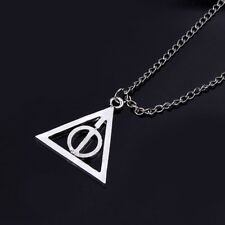 Harry Potter The Deathly Hallows Stainless Steel Chain Necklaces & Pendant Charm