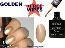 BLUESKY GEL POLISH GOLD NUDE NAIL A28 UV LED SOAK OFF, SPECIAL LIMITED SALE