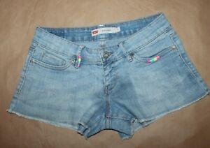 Levi Strauss & Co, Size 1, Denim Shorty Shorts